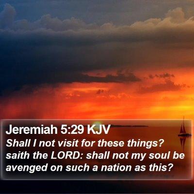 Jeremiah 5:29 KJV Bible Verse Image