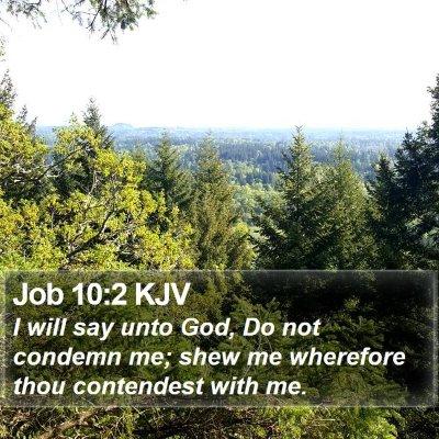 Job 10:2 KJV Bible Verse Image