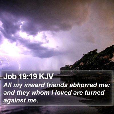 Job 19:19 KJV Bible Verse Image