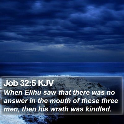 Job 32:5 KJV Bible Verse Image