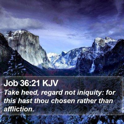 Job 36:21 KJV Bible Verse Image
