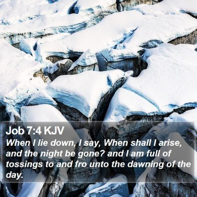 Job 7:4 KJV Bible Verse Image