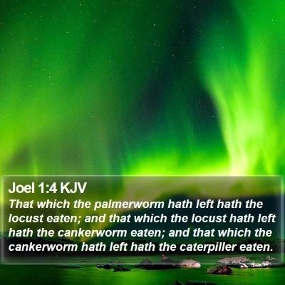 Joel 1:4 KJV Bible Verse Image