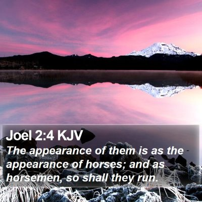 Joel 2:4 KJV Bible Verse Image