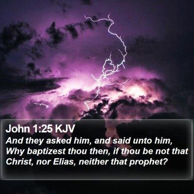 John 1:25 KJV Bible Verse Image