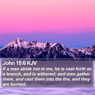 John 15:6 KJV Bible Verse Image