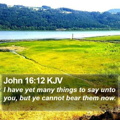 John 16:12 KJV Bible Verse Image
