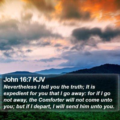 John 16:7 KJV Bible Verse Image