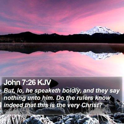 John 7:26 KJV Bible Verse Image