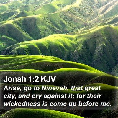 Jonah 1:2 KJV Bible Verse Image