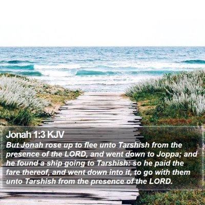 Jonah 1:3 KJV Bible Verse Image