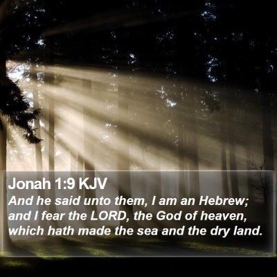 Jonah 1:9 KJV Bible Verse Image
