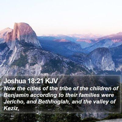 Joshua 18:21 KJV Bible Verse Image