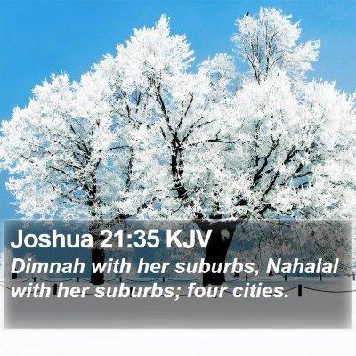 Joshua 21:35 KJV Bible Verse Image