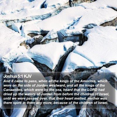 Joshua 5:1 KJV Bible Verse Image
