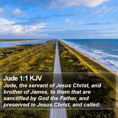Jude 1:1 KJV Bible Verse Image