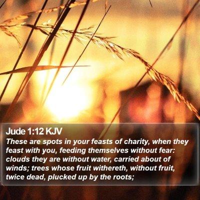 Jude 1:12 KJV Bible Verse Image