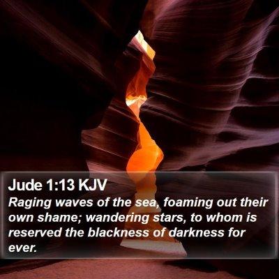 Jude 1:13 KJV Bible Verse Image