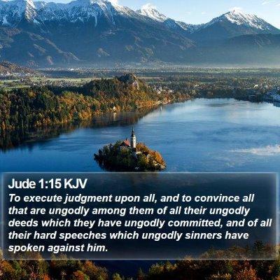 Jude 1:15 KJV Bible Verse Image