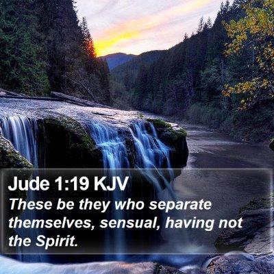 Jude 1:19 KJV Bible Verse Image