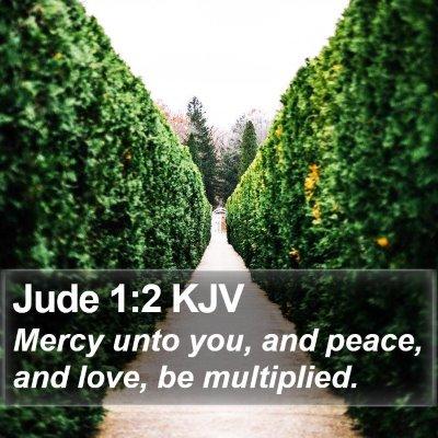Jude 1:2 KJV Bible Verse Image