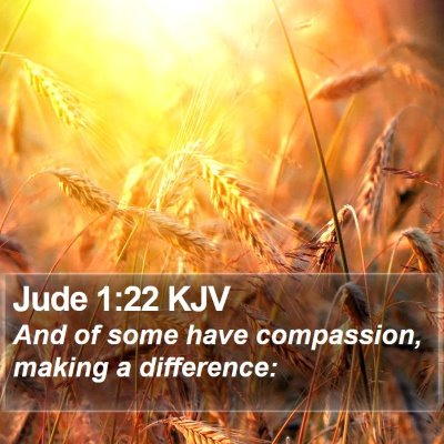 Jude 1:22 KJV Bible Verse Image