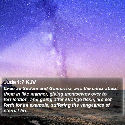 Jude 1:7 KJV Bible Verse Image