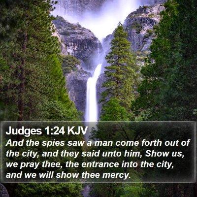 Judges 1:24 KJV Bible Verse Image