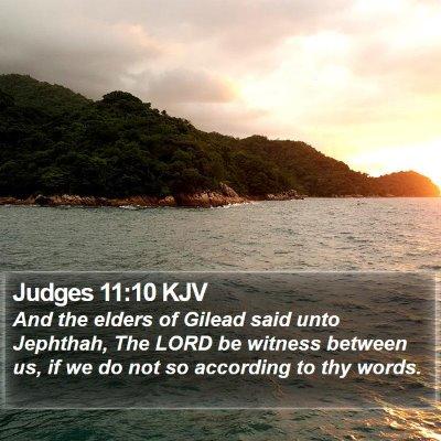 Judges 11:10 KJV Bible Verse Image