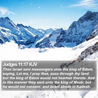 Judges 11:17 KJV Bible Verse Image