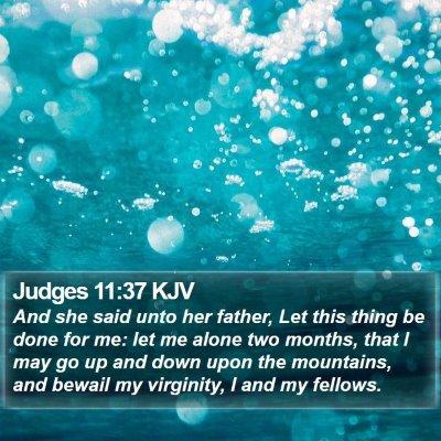 Judges 11:37 KJV Bible Verse Image