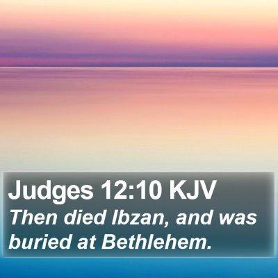 Judges 12:10 KJV Bible Verse Image