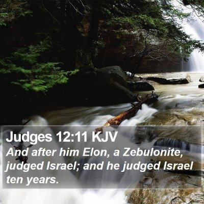 Judges 12:11 KJV Bible Verse Image
