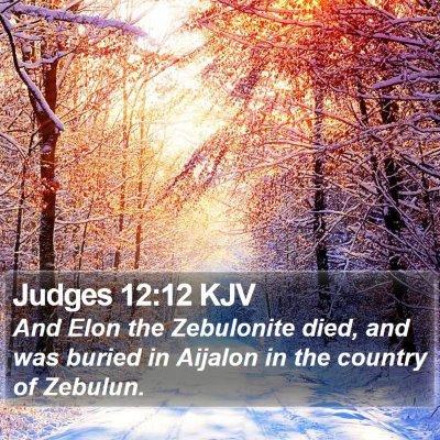 Judges 12:12 KJV Bible Verse Image