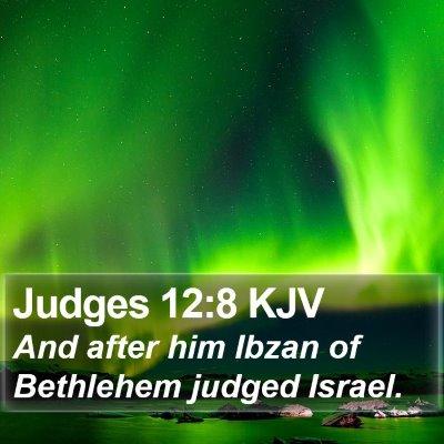 Judges 12:8 KJV Bible Verse Image
