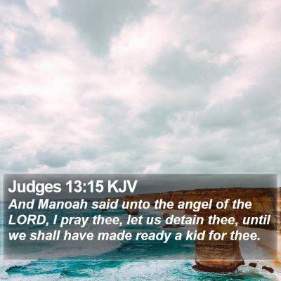 Judges 13:15 KJV Bible Verse Image