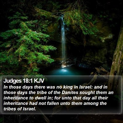 Judges 18:1 KJV Bible Verse Image