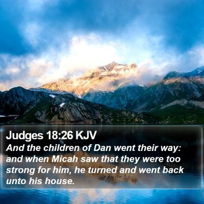 Judges 18:26 KJV Bible Verse Image
