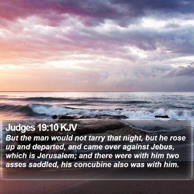 Judges 19:10 KJV Bible Verse Image