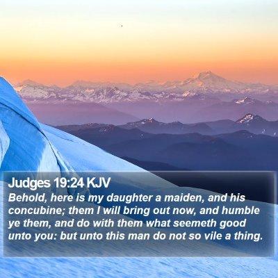 Judges 19:24 KJV Bible Verse Image
