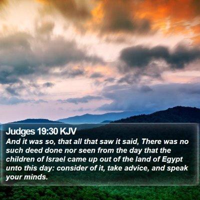 Judges 19:30 KJV Bible Verse Image
