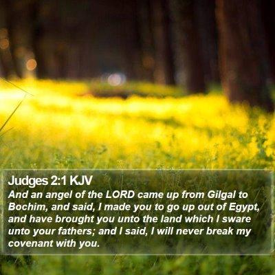 Judges 2:1 KJV Bible Verse Image