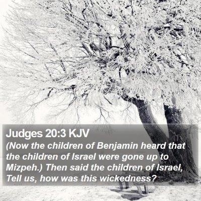 Judges 20:3 KJV Bible Verse Image