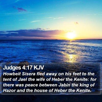 Judges 4:17 KJV Bible Verse Image