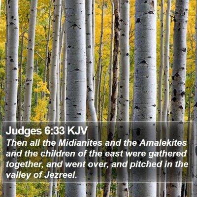 Judges 6:33 KJV Bible Verse Image