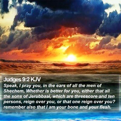Judges 9:2 KJV Bible Verse Image