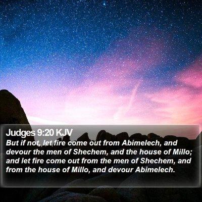 Judges 9:20 KJV Bible Verse Image