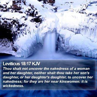 Leviticus 18:17 KJV Bible Verse Image