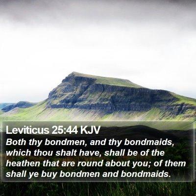 Leviticus 25:44 KJV Bible Verse Image