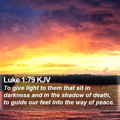 Luke 1:79 KJV Bible Verse Image